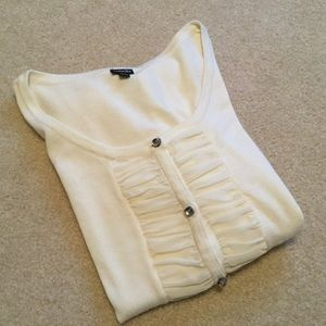 BEAUTIFUL EUC Button Front Cardigan Sweater